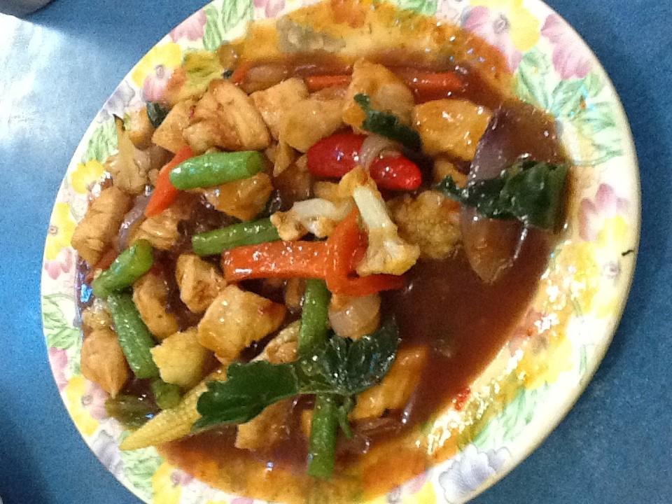 Paprik-Ayam