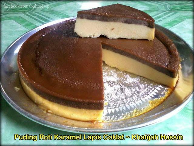 Puding-Roti-Karamel-Lapis-Coklat