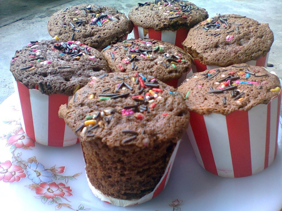 kek-cawan-coklat