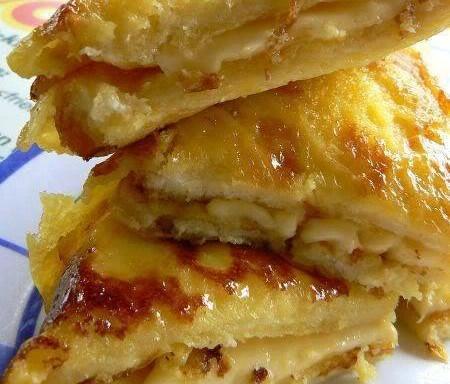 Roti Bakar Telur Bersama Keju