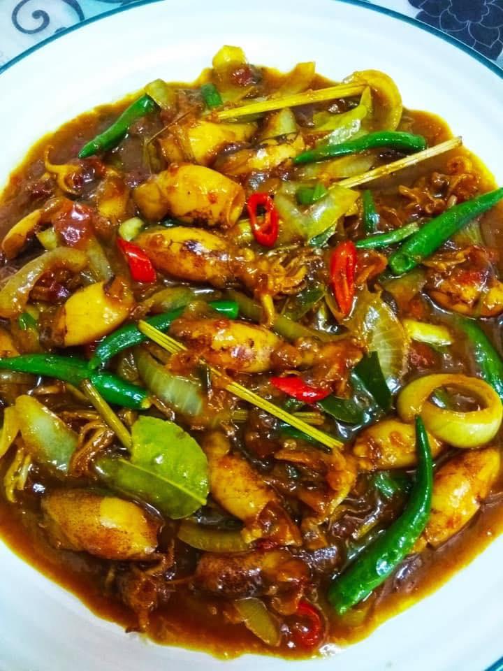 Resepi Sotong Masak Thai