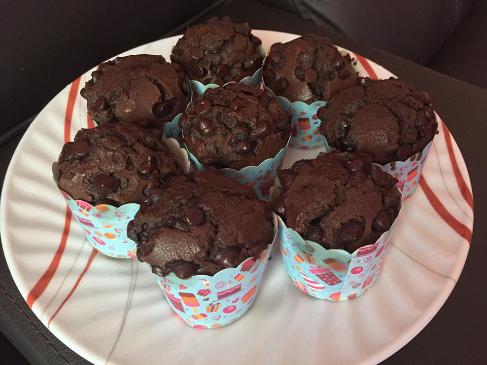 Resepi Muffin Chip Coklat